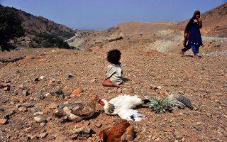 Παιδί, διωγμένο από τον πόλεμο, μεγαλώνει στα βουνά του Αφγανιστάν.
