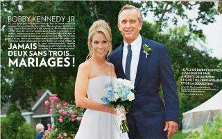 Το γνωστό γαλλικό περιοδικό paris match δημοσίευσε αναλυτικό ρεπορτάζ για το γάμο, που έγινε στο Χαγιάνις Πορτ.
