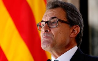 ο πρόεδρος της Καταλονίας,  Αρτούρ Μας