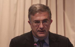 Ο Υφυπουργός Οικονομικών Γιώργος Μαυραγάνης μιλάει σε εκδήλωση σε κεντρικό ξενοδοχείο της Αθήνας, όπου η ΔΕΘ-Helexpo παρουσίασε τους κεντρικούς άξονες της 79ης Διεθνούς Εκθέσεως Θεσσαλονίκης στους εκπροσώπους του διπλωματικού σώματος και των διμερών Επιμελητηρίων, Πέμπτη 10 Απριλίου 2014. ΑΠΕ-ΜΠΕ/ΑΠΕ-ΜΠΕ/ΑΛΕΞΑΝΔΡΟΣ ΒΛΑΧΟΣ