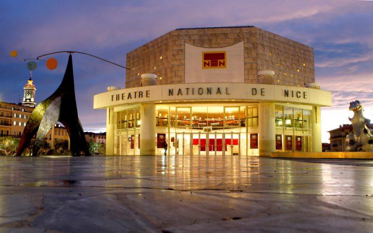 Αποψη του Εθνικού Θεάτρου της Νίκαιας. (Φωτογραφία: A.ISSOCK)