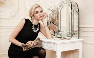 Tamsin Egerton is the new face of high street brand Accessorize