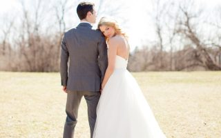 EXCLUSIVE: **PREMIUM RATES APPLY** Bachelor contestant Nikki Ferrell wears a wedding dress for bridal magazine photoshoot