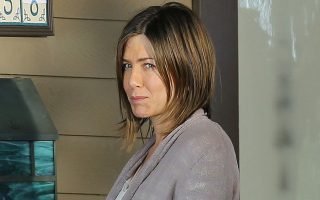 Jennifer Aniston has scars on her pretty face in