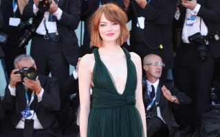 Emma Stone attends the opening ceremony and premiere of 'Birdman' at the 71st Venice Film Festival at Palazzo del Cinema in Venice, Italy on August 27, 2014.<P><noscript><img width=