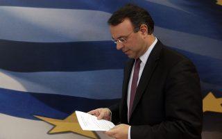 Ο αναπληρωτής υπουργός των Οικονομικών Χρήστος Σταικούρας κάνει δηλώσεις στο Τύπο σχετικά με την πορεία του προϋπολογισμού για τον μήνα Ιανουάριο του 2014, Αθήνα Τρίτη 11 Φεβρουαρίου 2014.   ΑΠΕ ΜΠΕ/ΑΠΕ ΜΠΕ/ΟΡΕΣΤΗΣ ΠΑΝΑΓΙΩΤΟΥ ΑΠΕ ΜΠΕ/ΑΠΕ ΜΠΕ/ΟΡΕΣΤΗΣ ΠΑΝΑΓΙΩΤΟΥ