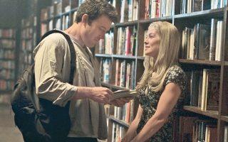 Από την ταινία το «Κορίτσι που εξαφανίστηκε»: O Νικ (Μπεν Αφλεκ) και η Εϊμι (Ρόζαμουντ Πάικ) σε στιγμές ευτυχίας. Μετά ήρθε ο γάμος...