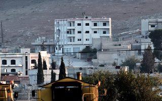Υστερα από πολιορκία τριών εβδομάδων και παρά την ηρωική αντίσταση των Κούρδων, η συριακή πόλη Κομπάνι, κοντά στα τουρκικά σύνορα, κινδύνευε κατά τη χθεσινή νύχτα να αλωθεί από τους τζιχαντιστές της οργάνωσης Ισλαμικό Κράτος (ISIS).