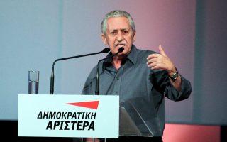 Ο κ. Φ. Κουβέλης επανεξελέγη πρόεδρος της ΔΗΜΑΡ με ποσοστό 68,34%.