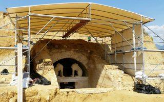 Η ανασκαφή της Αμφίπολης έδειξε πως μπορεί να γίνει τηλεοπτικό θέμα κι ας προβλήθηκε το αφιέρωμα αργά.