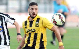 Ο Αραβίδης σημείωσε το πρώτο γκολ της ΑΕΚ στη Φούτμπολ Λιγκ.