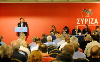 Στην ομιλία του στην Κεντρική Επιτροπή του ΣΥΡΙΖΑ, ο αρχηγός της αξιωματικής αντιπολίτευσης Αλ. Τσίπρας τόνισε ότι «η Ελλάδα χρειάζεται μια ισχυρή κυβέρνηση. Με ισχυρή λαϊκή εντολή και στήριξη».