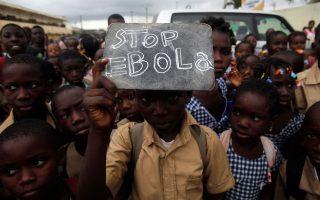 Το πρώτο κρούσμα της καινούργιας επιδημίας εκδηλώθηκε στις αρχές Δεκεμβρίου του 2013, στη Γουινέα. Ωστόσο, η Παγκόσμια Οργάνωση Υγείας σήμανε τον πρώτο συναγερμό μόλις στις 23 Μαρτίου, μιλώντας για «τοπική επιδημία στη νοτιοανατολική Γουινέα».