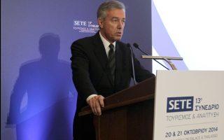«Το 2014 βρίσκει τον ελληνικό τουρισμό να συνεισφέρει 14 δισ. ευρώ άμεσα έσοδα» τονίζει στην «Κ» ο πρόεδρος του ΣΕΤΕ κ. Ανδρέας Ανδρεάδης