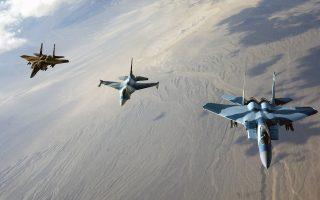 Στις κοινές ασκήσεις της αεροπορίας και του ναυτικού του Ισραήλ με τις κυπριακές ένοπλες δυνάμεις θα χρησιμοποιηθούν μαχητικά F15 και F16.