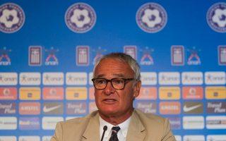 Ο προπονητής της Εθνικής Κλαούντιο Ρανιέρι.