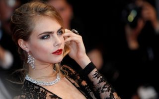 CPE/Cara Delevingne attends the Opening Ceremony and 'The Great Gatsby' Premiere during the 66th Annual Cannes Film Festival at the Theatre Lumiere on May 15, 2013 in Cannes, France.