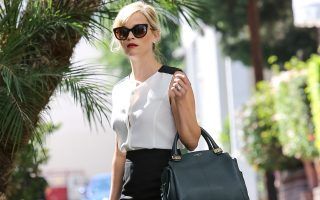 Reese Witherspoon looks chic after office meeting