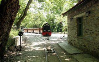 Ο «Μουτζούρης» στο Πήλιο. Ο γύρος της περιοχής θα πραγματοποιηθεί με παλιό και σύγχρονο τρένο.