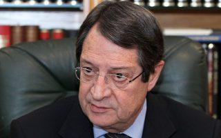 Πρέπει να αντιληφθεί η Τουρκία ότι αν θέλει να μην αποκλειστεί από την προμήθεια αερίου, που δεν είναι πρόθεσή μας, θα πρέπει να συμβάλει στη λύση. Είναι η μόνη οδός για να ωφεληθούμε όλοι, λέει στην «Κ» ο Κύπριος πρόεδρος Ν. Αναστασιάδης.