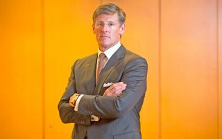 Ο επικεφαλής  (Chief Executive Officer) του παγκόσμιου τραπεζικού οργανισμού Citigroup Μάικλ Κόρμπατ μιλάει στην «Κ».