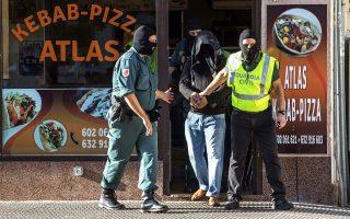 Σύλληψη ύποπτου τζιχαντιστή στην Ισπανία. Κατηγορείται ότι παρέσχε τις υπηρεσίες του σε συριακή οργάνωση και προσπάθησε να πάει στη Συρία.