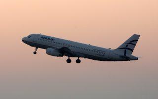Αυξημένη επιβατική κίνηση, ενισχυμένος τζίρος και μειωμένοι ναύλοι συνθέτουν την εικόνα της Aegean Airlines ένα χρόνο μετά την εξαγορά της Olympic Air.