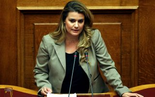 Η βουλευτής της ΔΗΜΑΡ, Ν. Φούντα