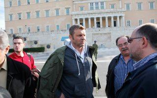 Ο Απόστολος Γκλέτσος αυτήν την εβδομάδα έφτιαξε το κόμμα του, την «Τελεία». Τώρα πλέον δικαιούται να ελπίζει πως στις φωτογραφίες μετά τις επόμενες εκλογές θα εμφανίζεται στο εσωτερικό του Κοινοβουλίου.