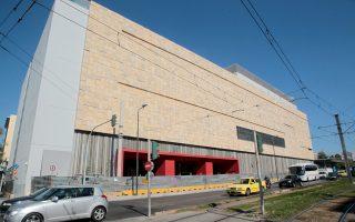 Ενα άδειο κέλυφος παραμένει για οκτώ μήνες το ανακατασκευασμένο Φιξ της λεωφόρου Συγγρού, μελλοντική έδρα του ΕΜΣΤ.