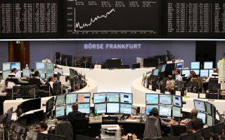Ο δείκτης FTSE-100 στο Λονδίνο και ο γαλλικός Cac-40 διολίσθησαν κατά 0,26% και 0,75%, αντίστοιχα. Στη Φρανκφούρτη, ο δείκτης Dax αποτέλεσε εξαίρεση με άνοδο 0,12%.