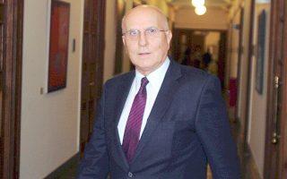 Tελευταίο του πόστο, υπουργός Eξωτερικών στην κυβέρνηση Παπαδήμου.