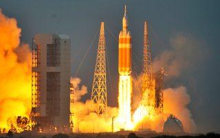 Ο «Ωρίων» εκτοξεύεται από το ακρωτήριο Κανάβεραλ στις 5 Δεκεμβρίου. Η NASA προετοιμάζει ξανά αστροναύτες που θα ταξιδέψουν πέρα από την τροχιά της Γης.