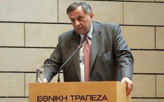 Ο διευθύνων σύμβουλος της Εθνικής Τράπεζας, Αλέξανδρος Τουρκολιάς.