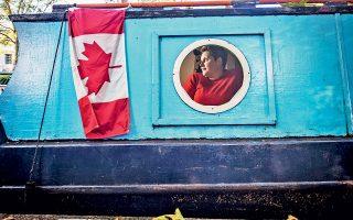 Καναδή υπήκοος που ζει σήμερα στα νερά του Λονδίνου. (Φωτογραφία: 2014 NEW YORK TIMES NEWS SERVICE/ANDREW TESTA)
