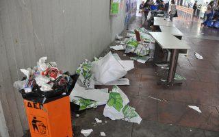 Ο τρόπος ανάθεσης των συμβάσεων καθαριότητας επί πρυτανείας Θ. Πελεγρίνη «ευθύνεται» για τη σημερινή έλλειψη συνεργείων καθαρισμού στο ίδρυμα.