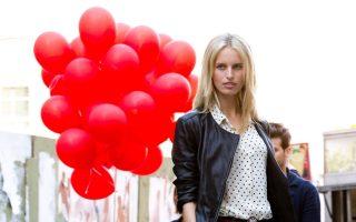 Karolina Kurkova and Hilary Rhoda at Loft the photoshoot in New York