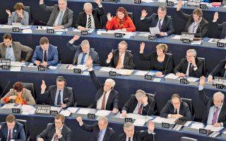 Στιγμιότυπο από τη χθεσινή ψηφοφορία στο Ευρωκοινοβούλιο. Οι καλλιέργειες γενετικά τροποποιημένων προϊόντων στα κράτη-μέλη της Ευρωπαϊκής Ενωσης είναι ελάχιστες.