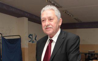 «Ιδιαίτερα δυσμενές» για τη  ΔΗΜΑΡ χαρακτήρισε ο Φ. Κουβέλης το εκλογικό αποτέλεσμα.