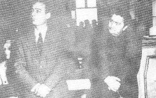 Ο Γρηγόρης Στακτόπουλος στη δίκη.