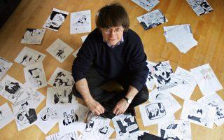 Ο Cabu, θύμα της επίθεσης, και ένας από τους πιο σημαντικούς Γάλλους σκιτσογράφους και κομίστες, όπως ο Reiser, ο Moebius, ο Charb, ο Wolinski.