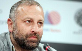 Ο απερχόμενος πρόεδρος του ΕΚΚ Γρηγόρης Καραντινάκης.