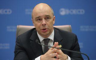 O Ρώσος υπουργός Οικονομικών Αντον Σιλουάνοφ.