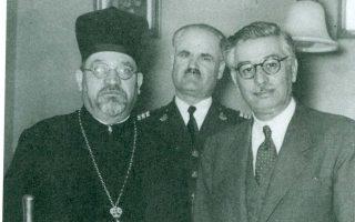 Ο Ελιάου Μπαρζιλάι με τον αρχηγό της Αστυνομίας, Αγγελο Εβερτ.