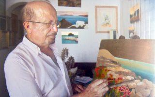 Mάρκος Bενιός, ζωγράφος, βραβευμένος συντηρητής έργων Tέχνης της Aρχαιολογικής Yπηρεσίας του υπουργείου Πολιτισμού. Γεννήθηκε στη Φολέγανδρο, ζει στην Aθήνα, επιστρέφει στο νησί, όπου ζει το άλλο όνειρό του: το Oικομουσείο Φολεγάνδρου.
