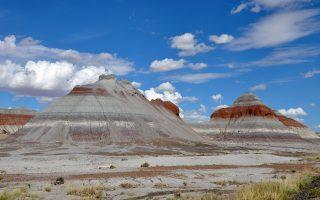 Το Εθνικό Πάρκο Απολιθωμένου Δάσους της Αριζόνας.