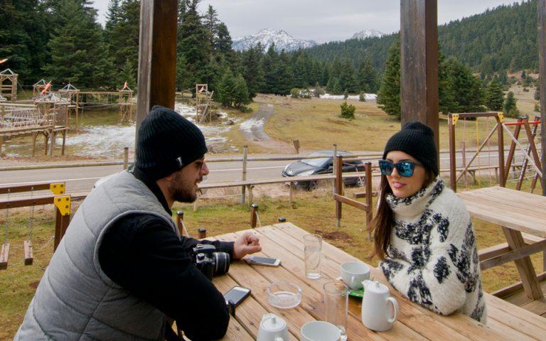 Το Καταφύγιο Οίτη στη θέση Βύζες προσφέρει πλήθος ορεινών δραστηριοτήτων, αναβαθμίζοντας τουριστικά την ευρύτερη περιοχή. (Φωτογραφία: Κλαίρη Μουσταφέλλου)