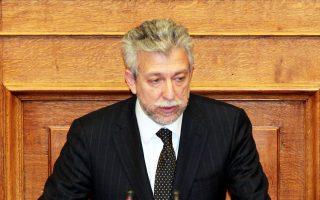 Ο υφυπουργός Αθλητισμού, Σταύρος Κοντονής.