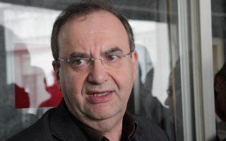 Ο αναπληρωτής υπουργός Υγείας και Κοινωνικών Ασφαλίσεων κ. Δημήτρης Στρατούλης.