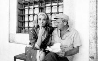 Μελίνα Μερκούρη και Ζυλ Ντασσέν σε μια από τις πιο όμορφες και λιγότερο γνωστές κοινές τους φωτογραφίες.